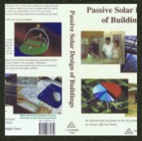 Passive Solar Design Buildings DVD