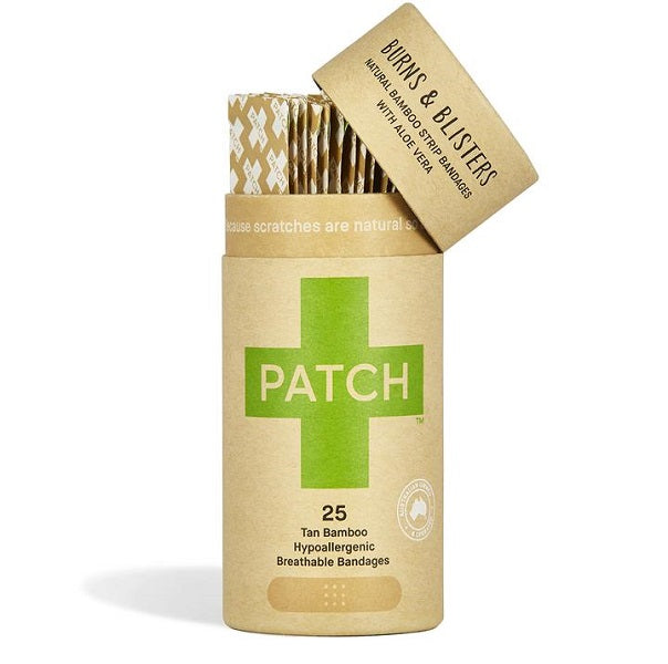 Patch Adhesive Strips - Tube of 25 (Aloe Vera)