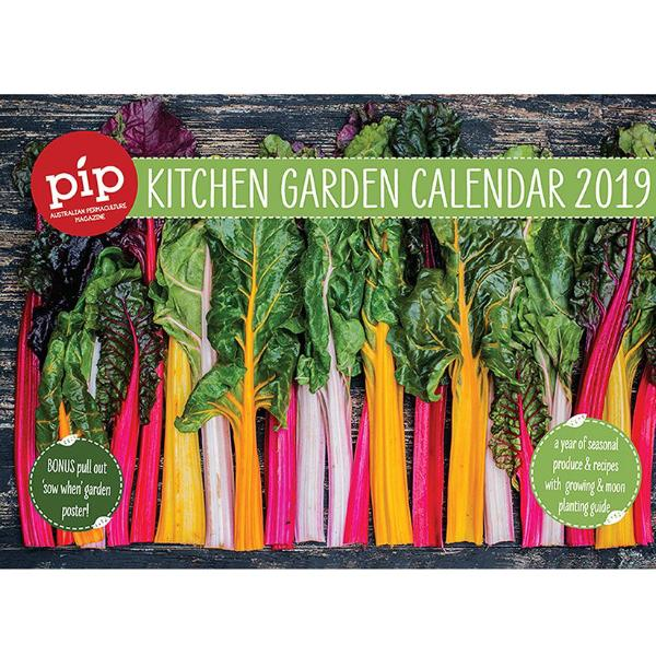 The Pip Kitchen Garden Calendar 2019