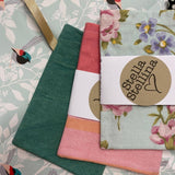 Ribbon and Envelope Detail, for Reusable Greeting Cards by Stella Stellina
