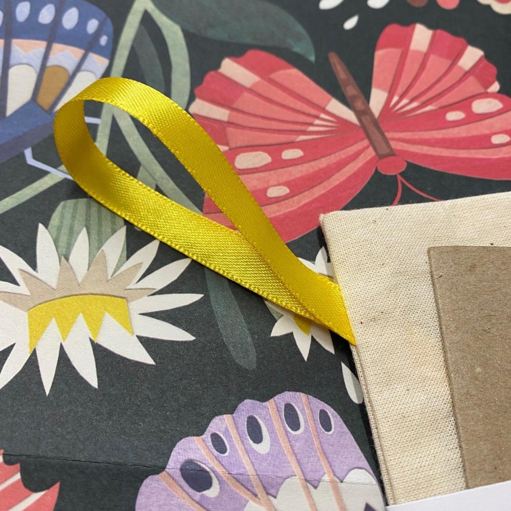 Replaceable Inner Message Paper Detail, for Reusable Greeting Cards and Envelopes by Stella Stellina