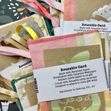 Several Bundles of Reusable Greeting Cards and Envelopes, from Stella Stellina
