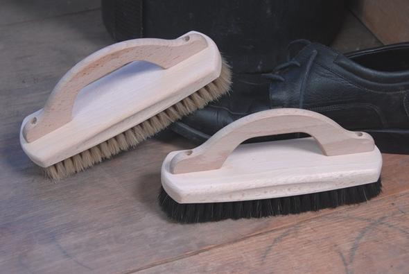 Shoe Shining Brush With Handle