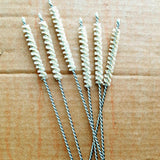Sisal Natural Fibre Straw Cleaning Brush