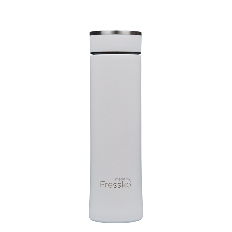 Fressko Colour Collection Water Bottle - 500ml (Snow)