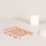 Wire Soap Dish - Bendo Copper