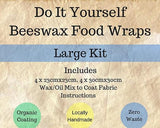 Label Detail for DIY Beeswax Wraps Kit (Large) from The Family Hub