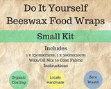 Label Detail for DIY Beeswax Wraps Kit (Small) from The Family Hub