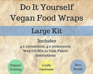 DIY - Vegan Food Wraps