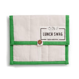 A Lunch Swag Reusable Lunch Bag from The Swag, in Green