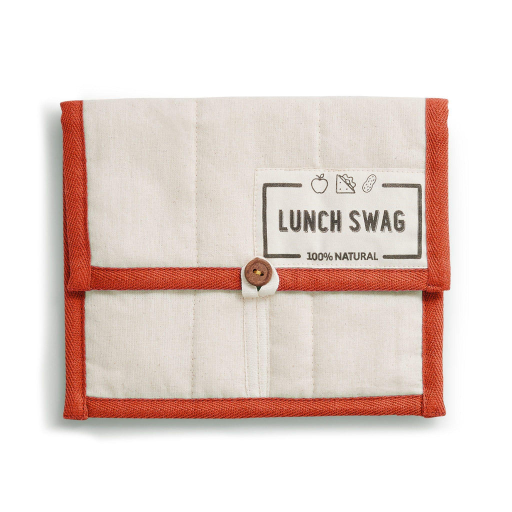 A Lunch Swag Reusable Lunch Bags from The Swag, in Orange