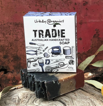 Urthly Organics Australian Handcrafted Tradie Soap, 100g
