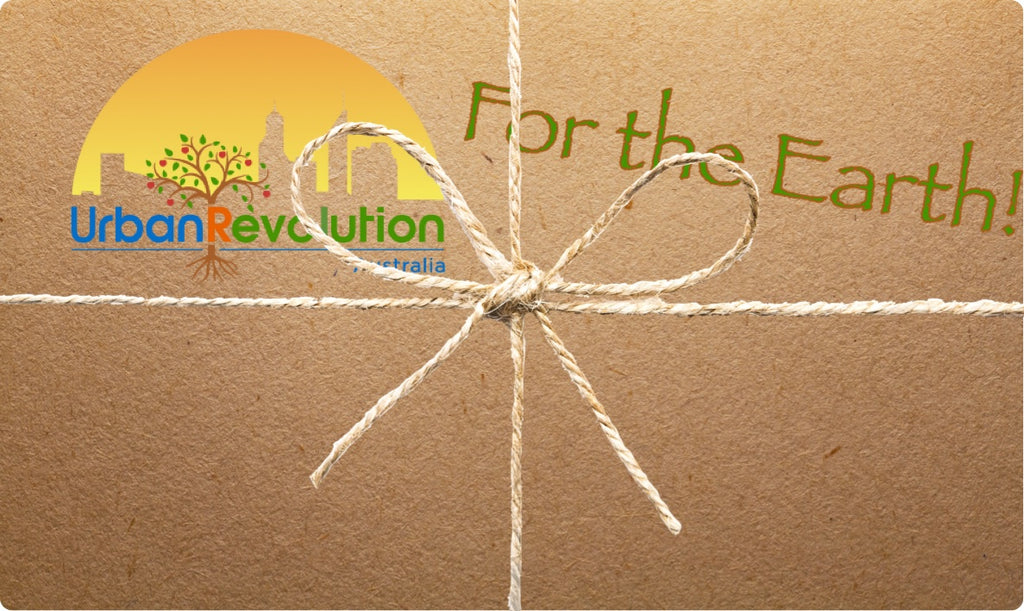 Urban Revolution Gift Card - For the Earth!