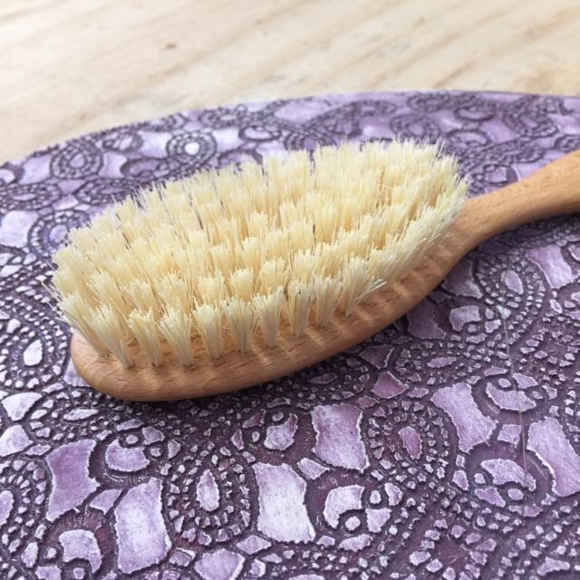 Vegan Hair Brush - Tampico Bristles