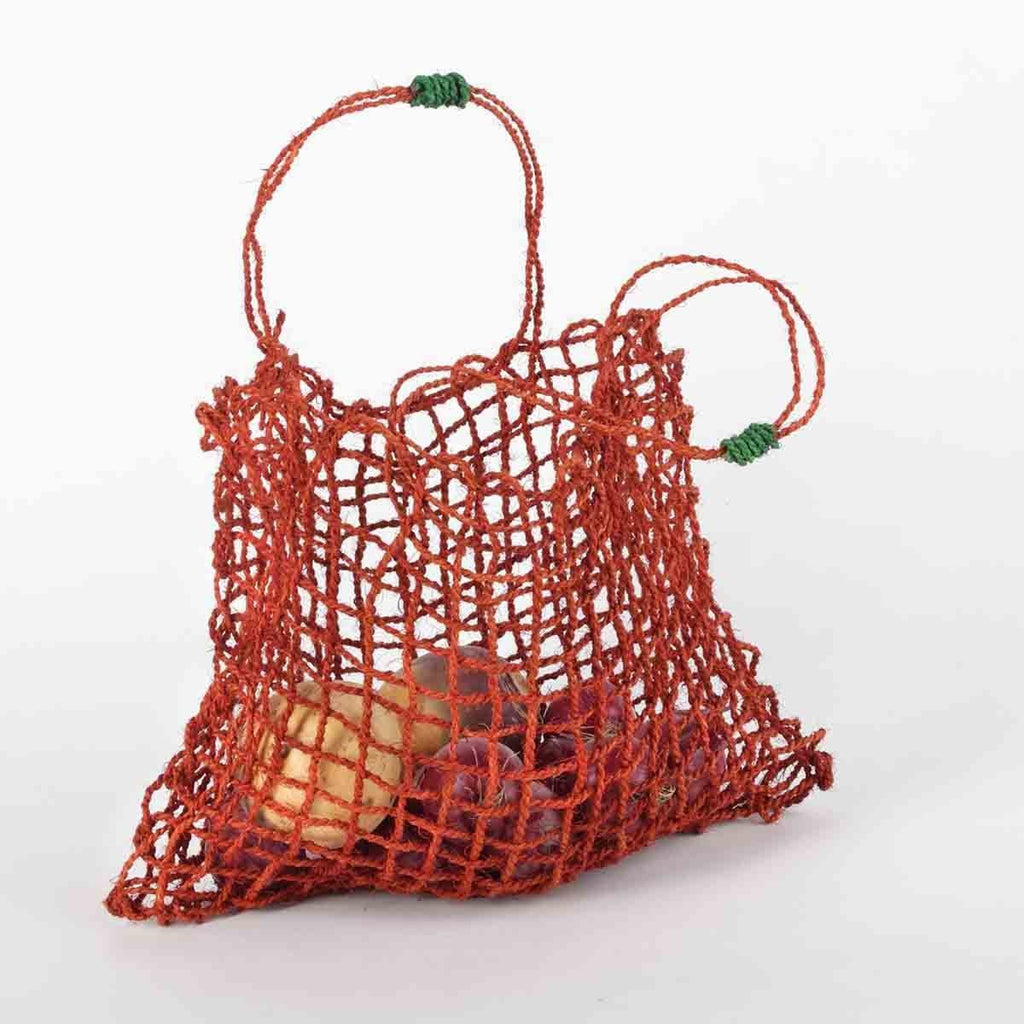Import Ants Araliya String Bag Home Tangerine