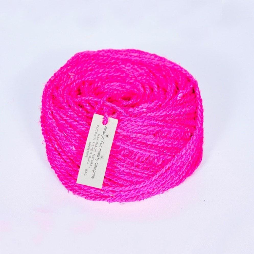Import Ants Coir String 25m Home Magenta