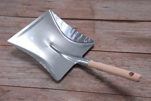 Heaven in Earth Dust Pan - Galvanised Steel Home