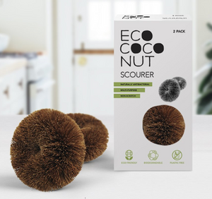 Eco Coconut Fibre Scourer - Pack of 2