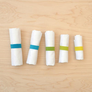 Flip & Tumble Flip & Tumble Travel Pouches - Set of 5 Eco Home Products, Waste minimisation