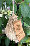 Rolled Gardener's Soap in Clean Boosting and Refillable Hemp Bag - Handmade