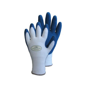 Quality Products Gloves Bamboo Fit - Large Garden Blue