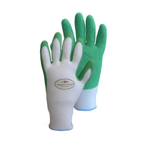 Quality Products Gloves Bamboo Fit - Large Garden Green