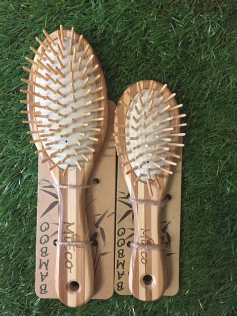 MiEco Hairbrush - Bamboo Home