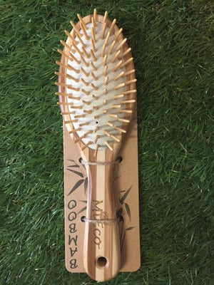 MiEco Hairbrush - Bamboo Home Large