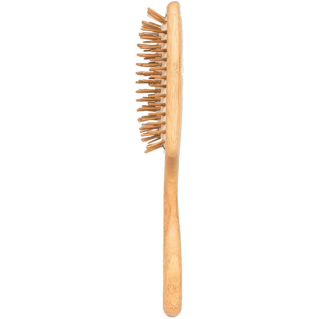 Bamboo Hair Brush, side view