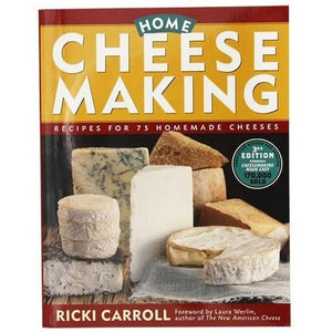 Imake Home Cheese Making Book by Ricki Carroll Home