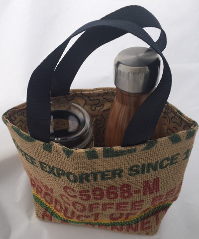 Double Coffee Carrier Bag