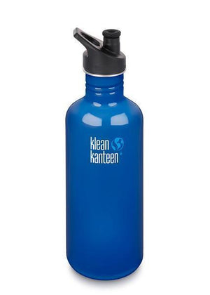 Klean Kanteen Klean Kanteen Classic 1182ml (40Oz) - Sports Cap Drink Bottles Blue Planet