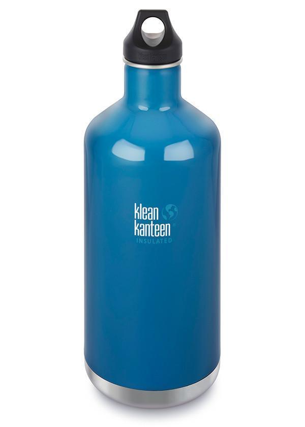 Klean Kanteen Klean Kanteen Insulate Classic 1900ml (64Oz) - Loop Cap Drink Bottles Winter Lake