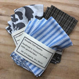 Reusable Cloth Table Napkins from PaulaW, in All Three Designs