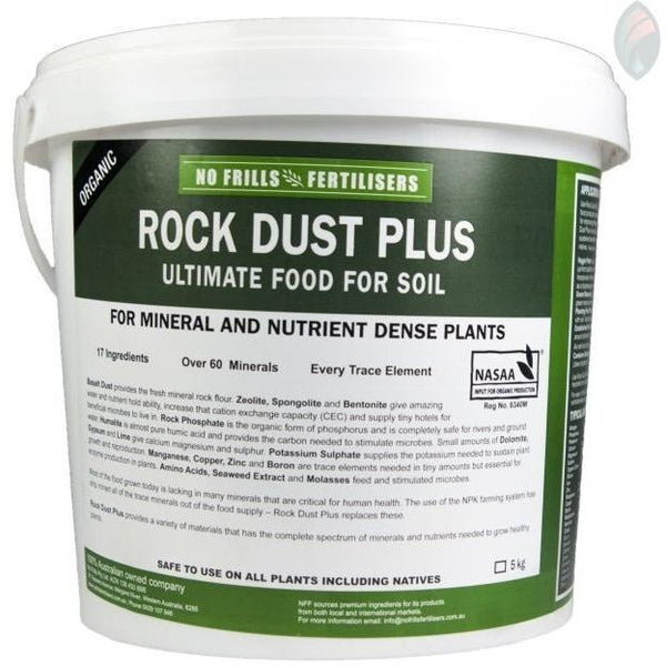 Urban Revolution Australia No Frills - Rock Dust Plus Garden 5kg