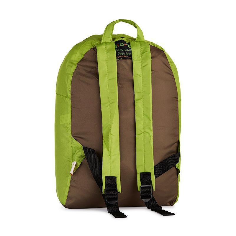 Onya Backpacks - Olive & Apple / Garden (Back)