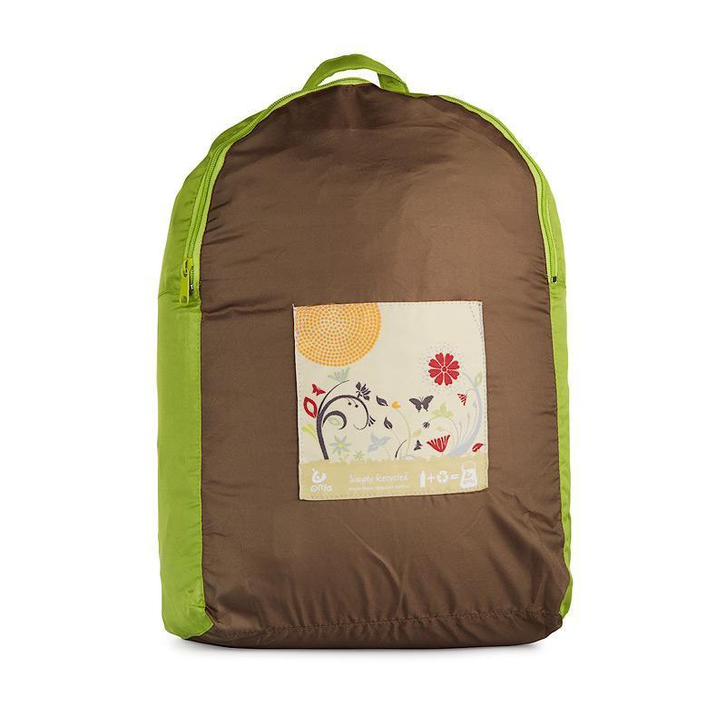 Onya Backpacks - Olive & Apple / Garden