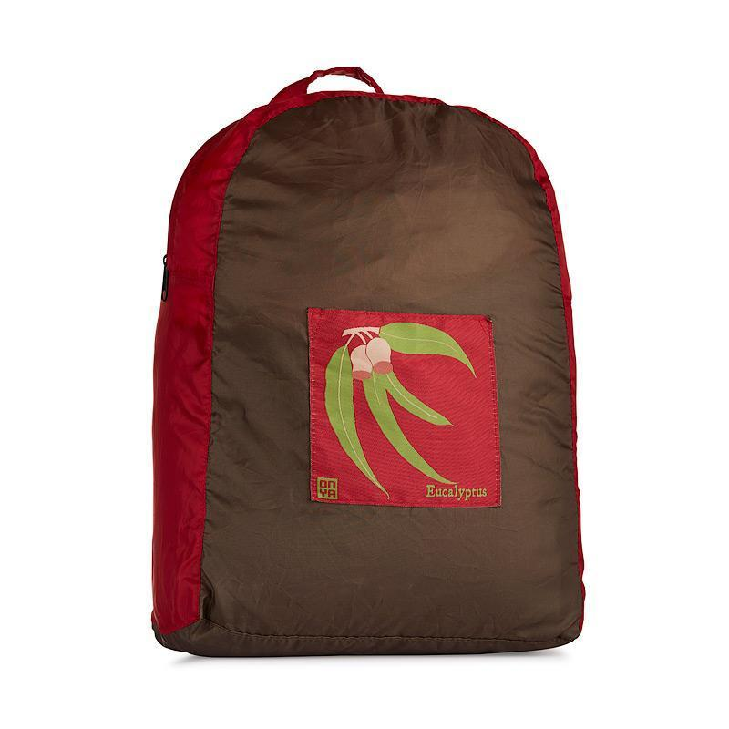 Onya Backpacks - Olive & Chilli / Eucalyptus