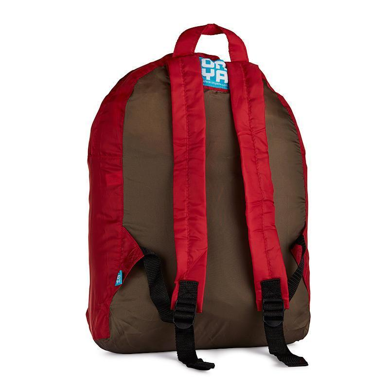 Onya Backpacks - Olive & Chilli / Hoopla (Back)