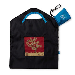 Onya Onya Shopping Bags - Small Shopping Bags Black / Red Tree