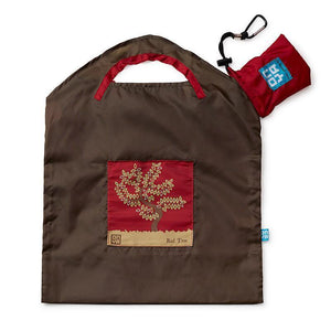 Onya Onya Shopping Bags - Small Shopping Bags Olive / Red Tree