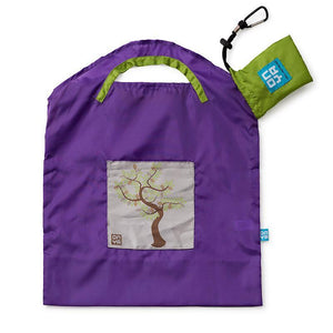 Onya Onya Shopping Bags - Small Shopping Bags Purple / Tree