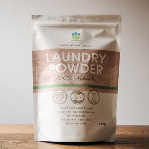 Laundry Powder 100% Natural - 2.5kg - The Family Hub