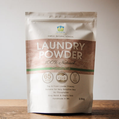Laundry Powder 100% Natural - 2.5kg - The Family Hub Eucalyptus