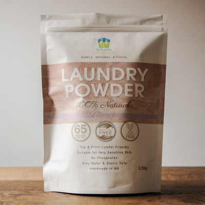 Laundry Powder 100% Natural - 2.5kg - The Family Hub Lavender