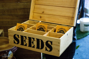 Vic Park Mens Shed Seed Packet Box Garden Small