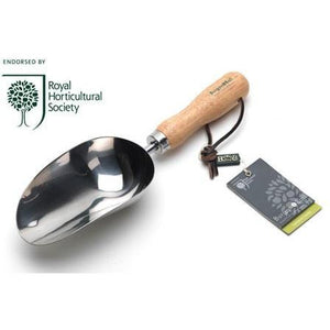 Burgon & Ball Stainless Compost Scoop Garden