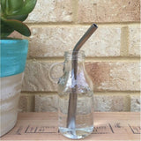 "Urban Revolution Australia Straw Stainless Steel - 3/8"" Home Bent"