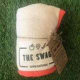 A Rolled Produce Storage Bag (Long) by The Swag, with OrangeTrim