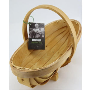 Urban Revolution Australia Trug - Traditional Wooden Medium Garden